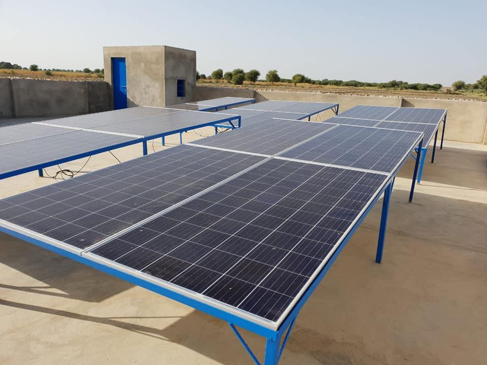 مضخات مياه على الطاقة الشمسية